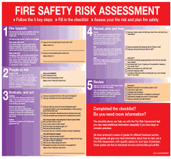 Fire Risk Assessments chart.