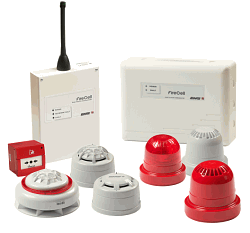 wireless fire alarms
